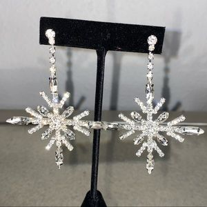 Brand New St. Raine Snowflake Earrings